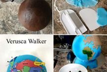 Earth cakes, cookies and cupcakes