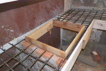 mesada de cemento