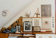 Studio Inspiration / Ideas for studio space.