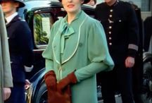costumes Poirot/Miss Ficher/Downton Abbey