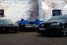 VW Golf Cabrio MK6 / GTI MK7 / photomontage and photography in the fields of automobiles