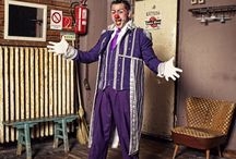 Circus portraits by Adam Urban