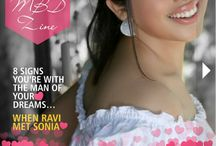 Magical Megha Israni in The MBD Zine's Valentines Edition / Read the journey of Magical Megha Raaj Israni on our latest article in My Bridal Drama By Sonal KS Magaizne. http://mybridaldrama.com/zine