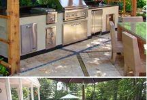 Dış mekan mutfaklar