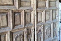Rustic old doors