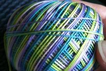 My tatting thread / by Sandra Moffet