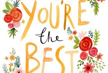#You're the best