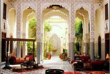 INTERIORS | Moroccan Inspired. / Moroccan designed interiors to use as inspiration for my home.