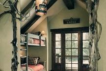 Pretty Cabin Ideas / by Jessica Lipcsei