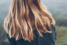fint hår.