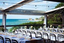 Byron Bay Wedding Reception Style / Ideas, styles and dreams for your Byron Wedding Reception. For more wedding inspiration go to www.byronbeachcafe.com.au