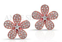 Floral Arrangements / Flower Jewelry / by Anne Sisteron Fine Jewelry