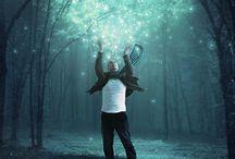 Surrealistic Photo Manipulations / Unusual Selfies and Other Stuff