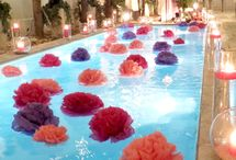 Pool party / Feste a bordo piscina!! Idee per decorazioni e giochi in acqua!!