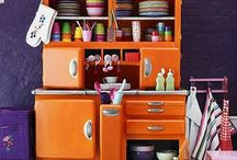 Purple,orange
