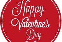 Valentinstagsaufkleber