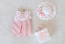 MINIATURE CHILDREN DRESS