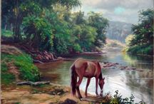 Pinturas do cavalo