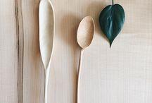 Wood spoons