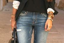Jeans and and