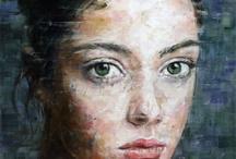 art - paint - portrait