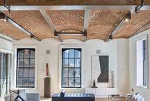 Design brick & wood