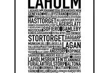 Sweden - Laholm / Staden Laholm i södra Halland