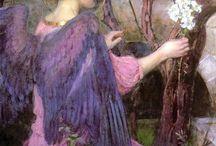 J .W .Waterhouse Pre Raphaelite Art / by Patrizia Anselmi