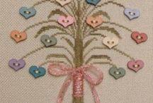 IGŁĄ I...: haft krzyżykowy różny