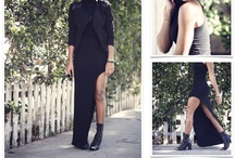 FASHION  |  all black everything / black outfits