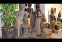Boeddha beeld voor tuin en interieur / Een 'kleine greep' uit ons huidige assortiment boeddhabeelden