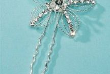 Wedding accessories for hair / by Kristy Mills