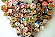 craft room deco ideas / by Roxy Barr
