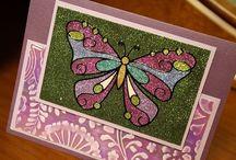 Karen Burniston/Elizabeth Craft Cards