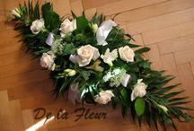 Dekorace stolů  De la Fleur - table decoration / květinové dekorace tabule - svatební i sváteční