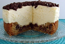 choc chip cookie cheesecake / by donna klinke