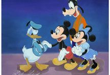 """Disney Artist Tony Anselmo / This is a gallery wrapped giclée on canvas on 1.50"""" stretcher bars and is ready to hang.  Call us for framing options if desired.  Each piece comes with the Certificate of Authenticity and Warranty.  If ever damaged or stolen, your item may be replaced for the cost of printing if verifiable with your Certificate of Authenticity and a Police or Insurance report."""