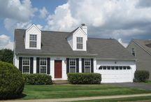 """Cape Cod House / Cape Cod House. Exterior Cape Cod architecture. """"Makeover Before and After Ideas"""""""