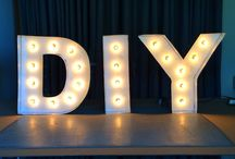 Wedding Decor / Brilliant ideas for wedding decor to add the finishing touches. Expect lots of budget ideas and DIYs