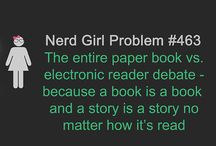 Nerd Girl Problems Meme