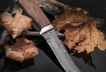 Knives Damascus / Ножи из дамасских сталей марок ZLADINOX™ собственного производства и Damasteel™ (Швеция)