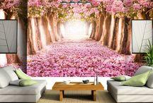 Ağaç Duvar Kağıtları / Dilediğiniz Ağaç görselini dilediğiniz ölçüler'de duvar kağıdı olarak üretebiliriz.