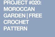 Morocan crochet