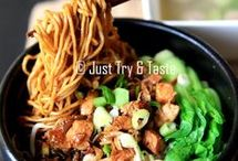 mie ayam just and try