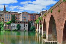 Albi, France / Albi is the birth town of the painter, Toulouse-Lautrec, and a World Heritage Site that dates from 3000-600 BC. All photos are my own.