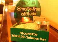 SMOKE-FREE ATTITUDE - WORLD NO TOBACCO DAY - / The members states of the World Health Organization created the World No Tobacco Day in 1987. It draws global attention to the tobacco epidemic and to the preventable feath & disease it causes.  DIRECT MARKETING S.A. handled the whole concept for the Nicorette Smoke-Free Attitude campaign: from the creative & original approach, the kits design & production, the Jeep catchy branding, till the creative educational approach and management.