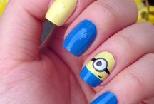 Animals nail art . :)