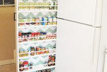 Aproveitamento de espaço em cozinhas