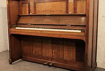 Arts and Crafts Style Pianos / Pianos with Arts and Crafts style cabinets
