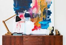 Interior Inspiration | Abstract Art